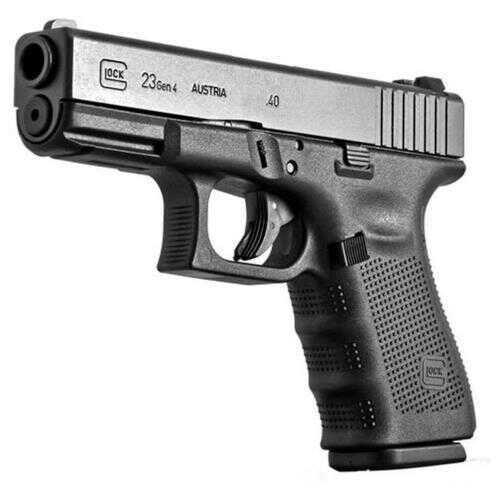 "Glock Model 23 Gen4 40 S&W  4"" Barrel 13 Round 3 Magazines  Polymer Black Semi Automatic Pistol     PG2350203"