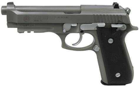 Taurus PT92 9mm Luger 17Rd Combat Matte Stainless Steel Pistol 1920159M17