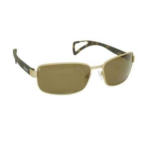Dakota Watch Zoinx Men Wrap Polarized Sunglasses Bronze Frame-Bronze Lens