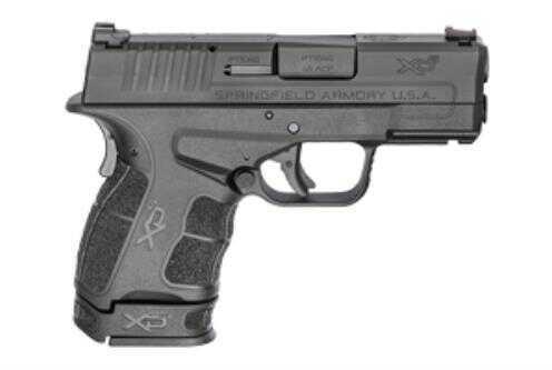 "Springfield XD-S MOD.2 Pistol 45 ACP 3.3"" Barrel 6+1 Rounds Fiber Optic Front Sight Black Finish"