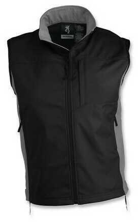 Browning Tracer Vest Black/Gray Medium 3053829902