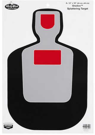 Birchwood Casey Dirty Bird BC19 Silhouette 12x18 Target Per 100 35712