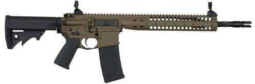 "LWRC Rifle IC-SPR 5.56mm NATO/223 Remington Brown Finish 14.7"" Barrel Short Stroke Gas Piston Semi-Automatic Rifle"