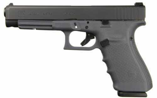 "GLOCK Semi-Auto Pistol G41 G4 GRAY 45ACP 10+1 AS 3-10 Round MAGS | ACCESSORY RAIL 45 ACP Barrel 5.31"""