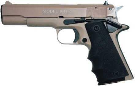 "Chiappa 1911-22 Semi Auto Pistol 22 LR  5"" Barrel 10 Rounds Alloy Frame  Rubber Grips  Tan"