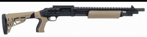 "Mossberg Talo Shotgun 500 12 Gauge Shotgun 18.5"" Barrel 5 Round Flat Dark Earth Scorpion"