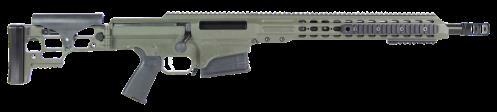 "Rifle Barrett Firearms Rifle MRAD 308 Win 17"" Heavy Barrel 10 Rounds Olive Darb Green"