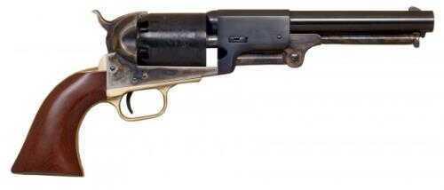 "Cimarron 3rd Model Dragoon Civilian Percussion Revolver 44 Caliber 7.5"" Barrel Case Hardened Brass Walnut Grip"