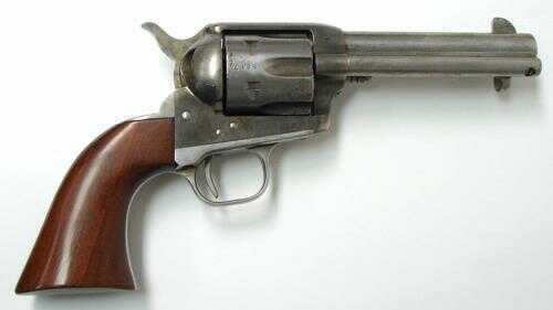 "Cimarron Old Model P Revolver 4.75"" Barrel 44-40 Winchester 1-Piece Walnut Grip Original Finish Md: MP522A00"
