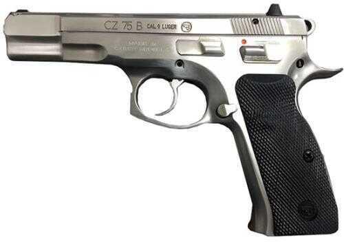 CZ USA Pistol Cz 75b 9mm Luger Matte Stainless Steel 16rd.