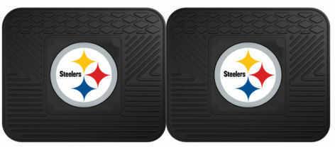 Fanmats 2 Utility Mats Nfl - Pittsburgh Steelers