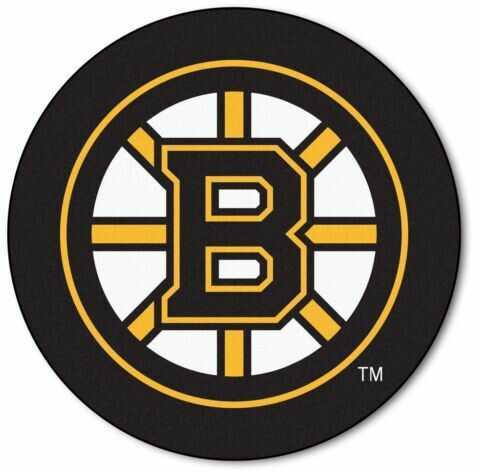 Fanmats Puck Mat Nhl - Boston Bruins