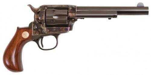 "Cimarron Lightning 32-20/32 H&R Dual Cylinder 5.5"" Barrel Case Hardened Pre-War Standard Blue Finish Revolver 1-Piece Walnut Grip Md: CA3002"