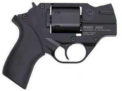 "Chiappa Rhino Revolver 357 Magnum 2"" Barrel 6 Round Steel  Black Finish  Rubber Grip With Holster  Pistol  CF340-078"