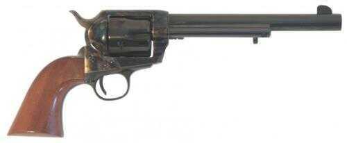 """Cimarron SA Frontier Old Model 45 Colt 7.5"""" Barrel Case Hardened Frame Standard Blued Finish Revolver Md: PP514"""
