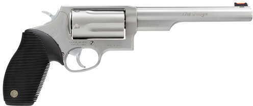 "Taurus Judge Tracker 410 Gauge / 45 Long Colt 6.5"" Barrel 5 Round Matte Stainless Steel DA/SA Actions Refurbished Revolver 2441069T"