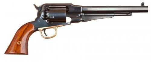 "Cimarron 1858 Remintgom Army Percussion Revolver 44 Caliber 8"" Barrel Blued Steel Frame 2-Piece Walnut Grip Standard Blued Finish"
