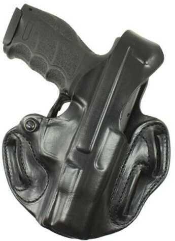 Desantis 001 Thumb Break Scabbard Belt Holster Right Hand Black HK Vp9 Leather