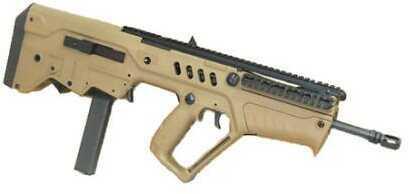 "Israel Weapon Industries Rifle IWI Tavor Semi-Auto Rifle FD17 17"" Barrel Flat Dark Earth 9mm Luger 30 Rounds PMAG"