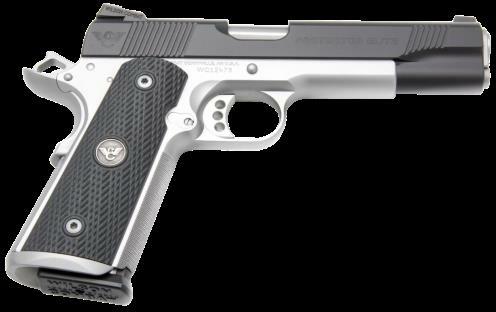 "Wilson Combat Protector 45ACP 5"" Barrel 8 Round Single Action G10 Starburst Grip Black Finish Semi Automatic Pistol"