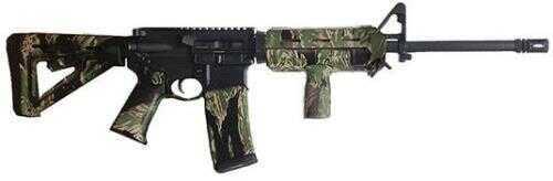"""American Tactical Imports Rifle ATI 5.56mm NATO 16"""" Barrel Vietnam Tiger Stripe Camo 30 Round Mag Semi Automatic GOMX556S"""