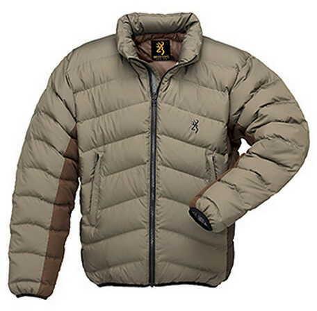 Browning Down 700 Jacket Tan, Small 3047663201