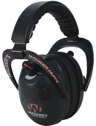 Walker's Game Ear / GSM Outdoors Walker Game Ear Elite Power Muff Black GWP-EPMB