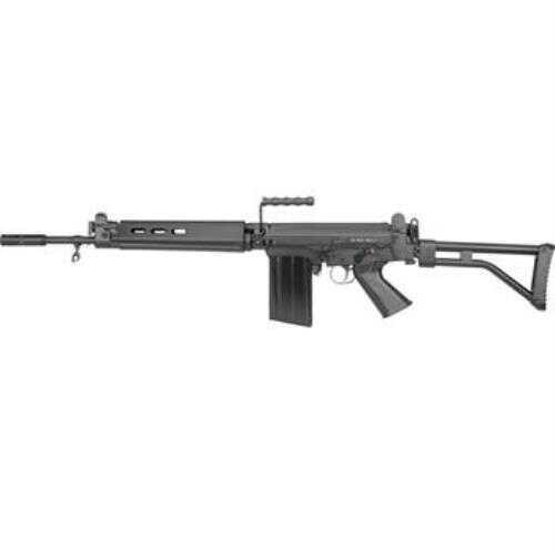 """Rifle DSA FAL SA58 PARA Carbine, 308 Win, 18"""" Barrel , Semi-Auto, Black, 20+1 Rounds"""