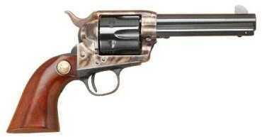"""Cimarron 1873 SAA Model P Revolver 45 Long Colt/ACP Dual Cylinder 4.75"""" Barrel Case Hardened Frame Walnut Grip Standard Blued Finish MP436"""