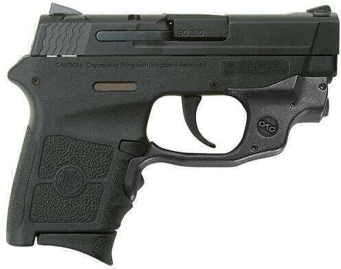 "Smith & Wesson Bodyguard Sub Compact 380 ACP 6 Round 2.75"" Barrel Crimson Trace Laserguard Black Finish 2 Mags Semi Automatic Pistol"