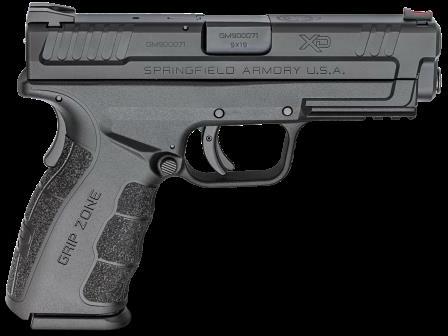Springfield Armory Pistol Springfield XD 9mm Mod 2 4'' Black