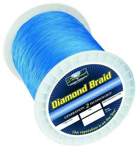 Momoi / Hi-Liner Line Diamond Braid Blue 1200yds 65lb fishing line 6-95699-61065-6