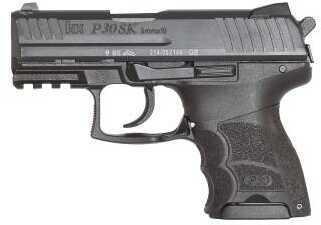 "Heckler & Koch H&K P30SK V3 Subcompact Pistol 9mm 3.27"" Barrel 10 Rounds Black"