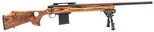 "Legacy Sports International Howa Classic Varminter Bolt Action Rifle 22-250 Remington 24"" Barrel 10 Rounds Nutmeg Thumbhole Stock With Bipod HVR96101+BRM"