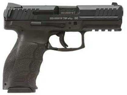 "Heckler & Koch Pistol HK VP40 .40 S&W 4.09"" Barrel Black 3 Dot Sights 2 10 Rounds"