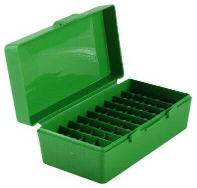 MTM Ammunition Box 50 Round Flip-Top 41 44 45 LC Green P50-44-10