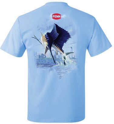 Penn Men's Sailfish Blue T-Shirt Large 1290032