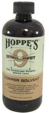 Hoppes Bench Rest 9 Copper Gun Solvent Pint 16 Oz Bottle Md: BR916