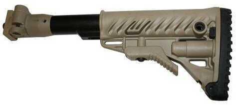 FAB Defense Galil Folding Buttstock VZ.58 Polymer Joint,Tan Md: M4VZP-FDE
