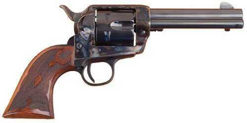 "Cimarron Eliminator C Frontier Revolver 4.75"" Barrel 357 Magnum / 38 Special 4.75"" Barrel Blued Finish Walnut Grip 6 Round Pistol"