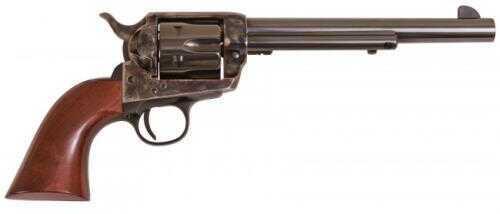 "Cimarron SA Frontier Pre-War Revolver 44-40 Winchester 7.5"" Barrel Case Hardened Frame Walnut Grip Standard Blued Finish PP425"