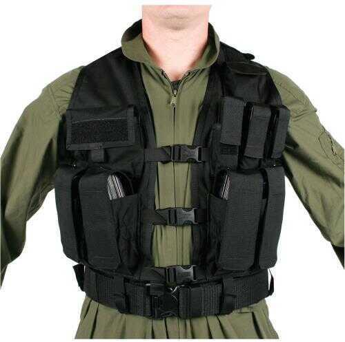 BlackHawk Products Group Adjustable Urban Assault Vest Md: 33UA00BK