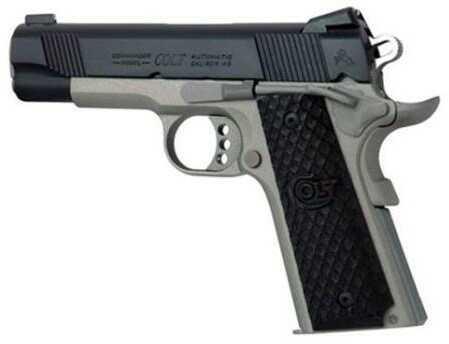 """Colt Talo Commander Elite 45 ACP 4.25"""" Barrel 8 Round Cerakote Frame Semi Automatic Pistol"""