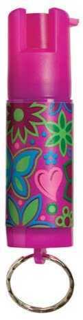 Sabre Designer Label Spray .54oz Pepper Spray & UV Marking Dye Pink KR-DL-100