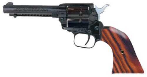 "Heritage Rough Rider Revolver SA Army Revolver22 Long Rifle /22WMR Combo 6.5"" Barrel Alloy Blue Cocobolo 6 Round"