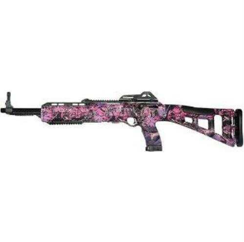 "MKS Hi Point 380 TS TGT 380 ACP Semi-Auto Carbine Rifle 16.5"" Barrel Pink Camo"