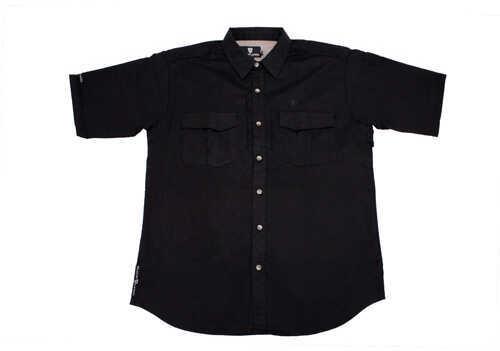 Browning Tactical Short Sleeve Shirt, Black XX-Large 3013849905
