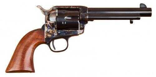 """Cimarron 1873 SAA Model P 38 WCF Revolver BP Frame 5.5"""" Barrel Case Hardened Walnut Grip Standard Blued Finish MP684"""