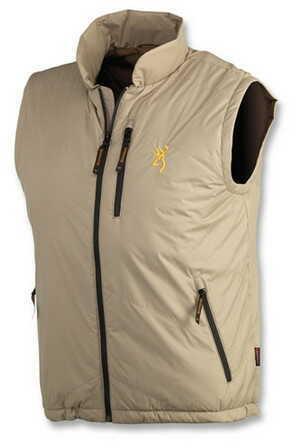 Browning Primaloft Liner Vest, Salt Grass X-Large 3058984804