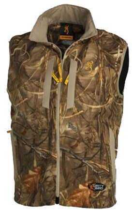 Browning Dirtybird Fleece Vest, Mossy Oak Shadow Grass Large 3056042503